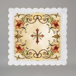 Cross and Flourishes Pall 3724