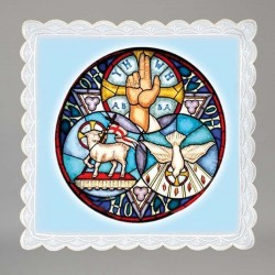 Lamb of God and Holy Spirit...
