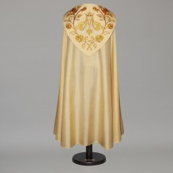 Marian Gothic Cope 4968 - Gold