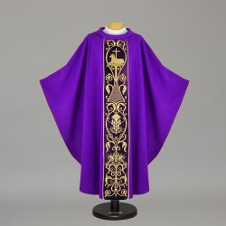 Gothic Chasuble 4997 - Purple