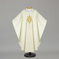 Gothic Chasuble - 5072 - Cream