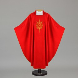 Gothic Chasuble - 5073 - Red
