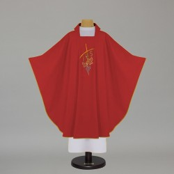 Gothic Chasuble - 5118 - Red