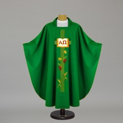 Gothic Chasuble - 5127 - Green