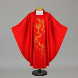 Gothic Chasuble - 5131 - Red