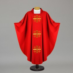 Gothic Chasuble - 5147 - Red