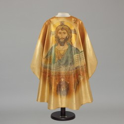 Gothic Chasuble 5198 - Gold