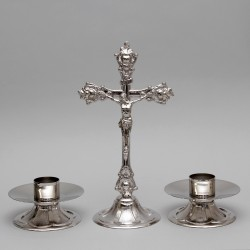 Crucifix and Candle...