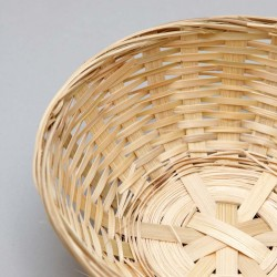 Wicker basket 5242