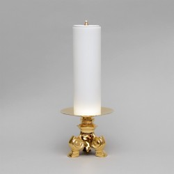 Candle Holder with Oil Candle 5165