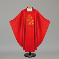Gothic Chasuble - 5342 - Red