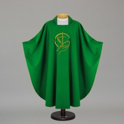 Gothic Chasuble 5343 - Green