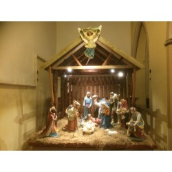 Bespoke Nativity Stables 5357