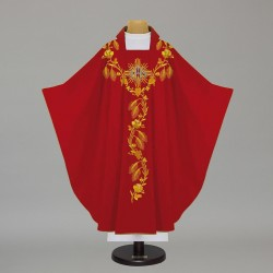 Gothic Chasuble - 5367 - Red