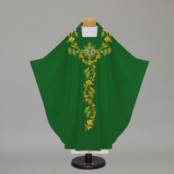 Gothic Chasuble - 5368 - Green