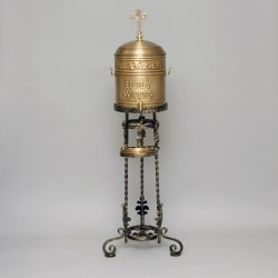 Brass Holy Water Container 0208  - 1