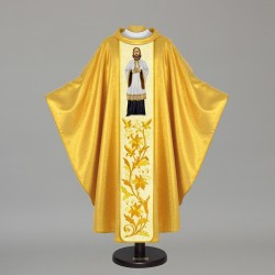 Gothic Chasuble 5474 - Gold