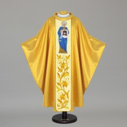 Gothic Chasuble 5485 - Gold