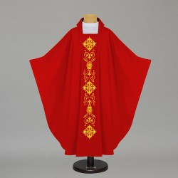 Gothic Chasuble 5493 - Red