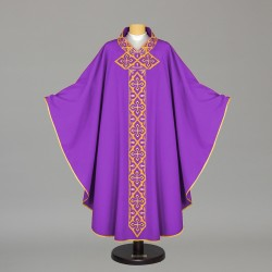 Gothic Chasuble 5495 - Purple