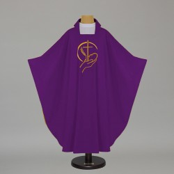 Gothic Chasuble 5498 - Purple