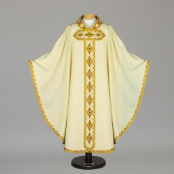 Gothic Chasuble 5511- Cream