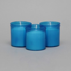 24 Hour Votive Lights-Blue