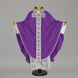 Gothic Chasuble 5519 - Purple