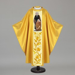 Gothic Chasuble 5524 - Gold