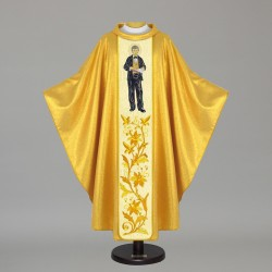 Gothic Chasuble 5534 - Gold