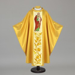 Gothic Chasuble 5544 - Gold