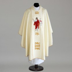 Gothic Chasuble 5786 - Cream