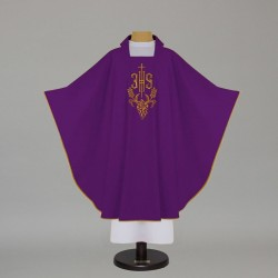 Gothic Chasuble - 4981- Purple