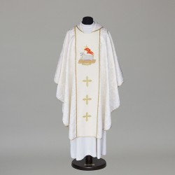 Gothic Chasuble 5818 - White