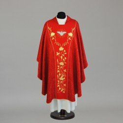 Gothic Chasuble 5785 - Red  - 1