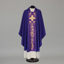 Gothic Chasuble 5854 - Purple