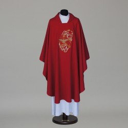 Gothic Chasuble 5864 - Red