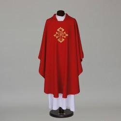 Gothic Chasuble 5866 - Red