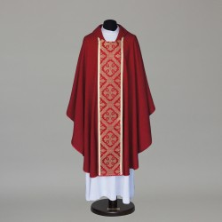Gothic Chasuble 5868 - Red