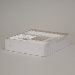 Box of 30 Baptismal candles in bulk 2521  - 1