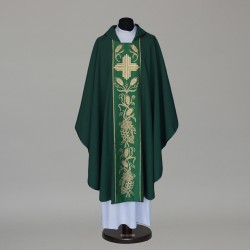 Gothic Chasuble 5988 - Green