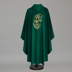 Gothic Chasuble 5989 - Green