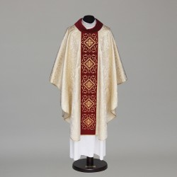 Gothic Chasuble 6034 - Gold