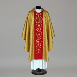 Gothic Chasuble 6048 - Gold