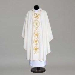 Gothic Chasuble 6062- Cream