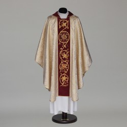 Gothic Chasuble 6063 - Gold