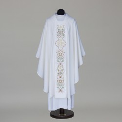 Gothic Chasuble 6073 - White