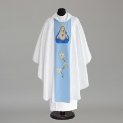 Gothic Chasuble 6142 - White