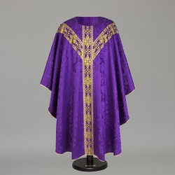 Gothic Chasuble 6149 - Purple