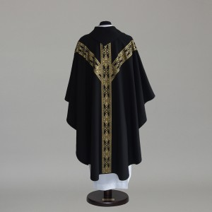 Gothic Chasuble 6152- White  - 5